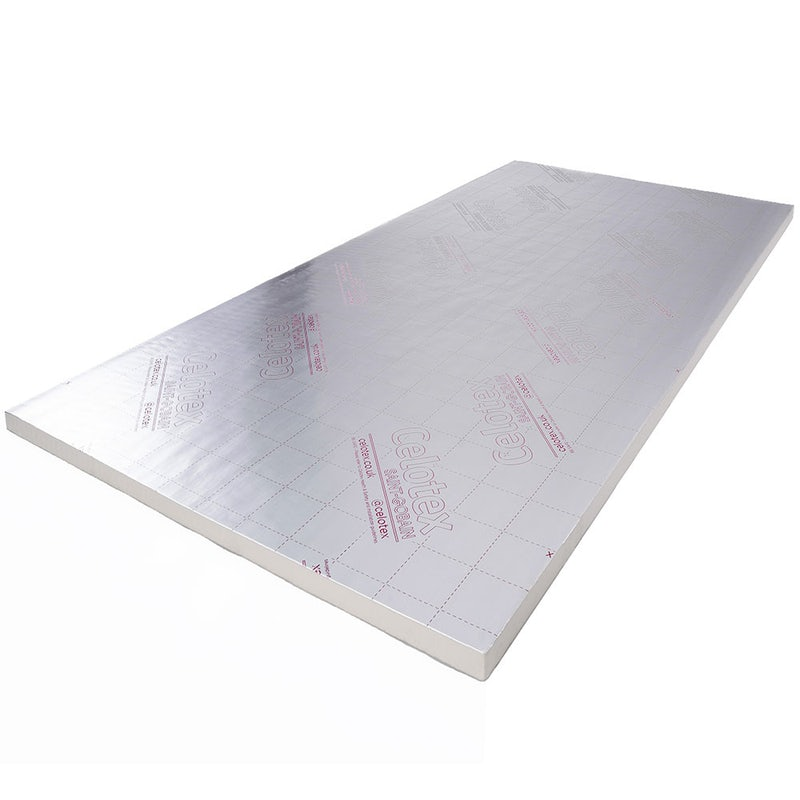 100mm Celotex GA4100 PIR Insulation Board 2400x1200mm
