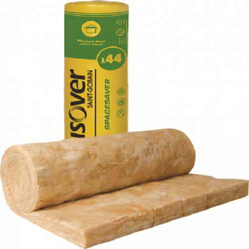 100mm Isover Spacesaver Loft Roll 14.13m2 pack