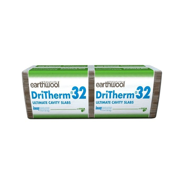 100mm Knauf Dritherm 32 Ultimate - 3.28m2 Per Pack