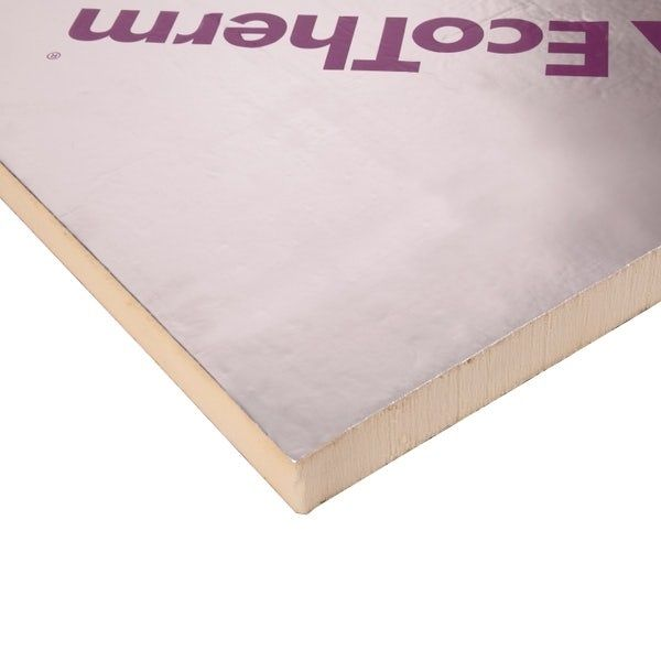 80mm Ecotherm Eco-Versal PIR Insulation Board 2400x1200mm