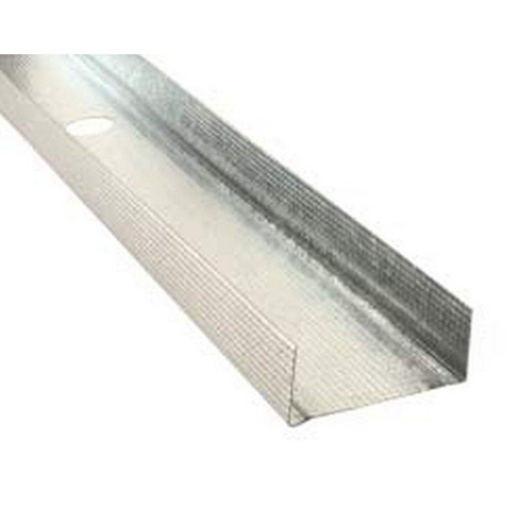 94mm Metal Track x 3.0m (Pack of 10)