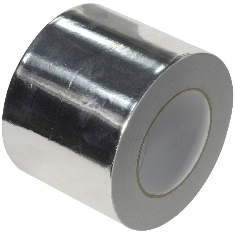 Aluminium Foil Tape 100mm x 45m **12 Roll Best Price Deal**