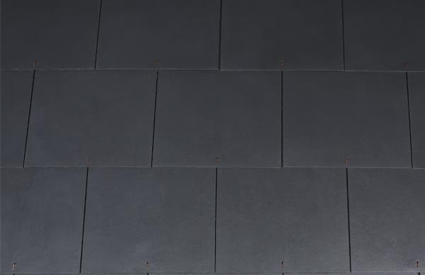 Etex Thrutone Fibre Cement Roof Slate - 600 x 600mm - Blue/Black