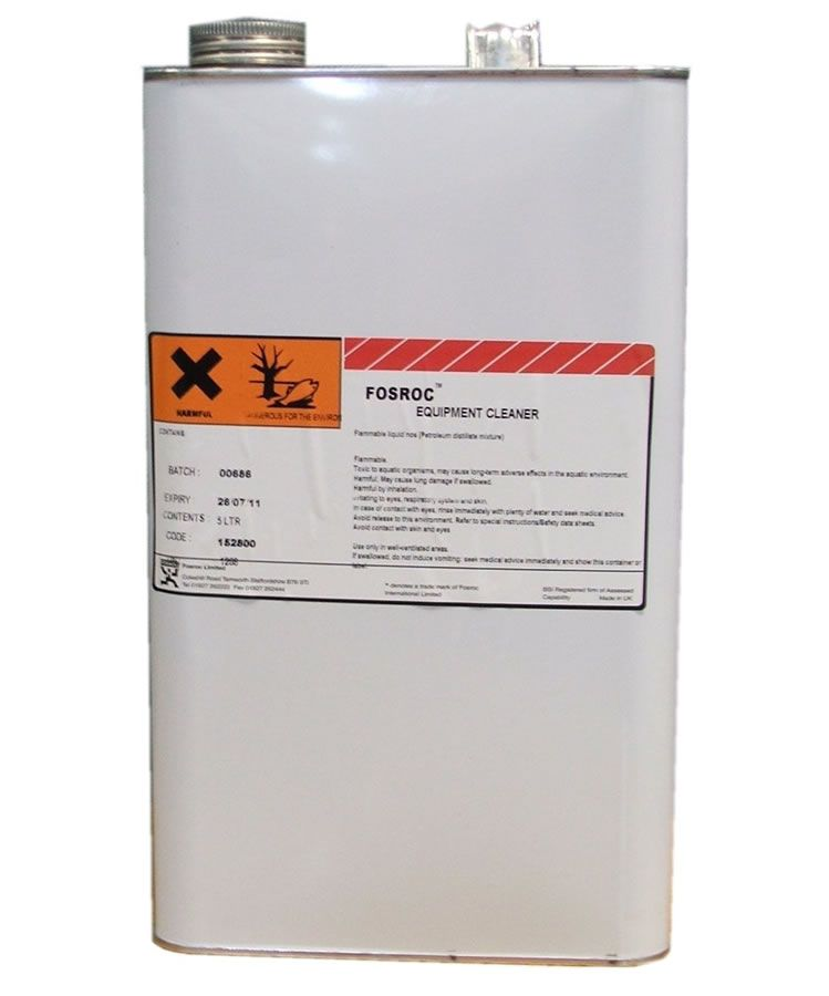 Fosroc Equipment Cleaner – 5L