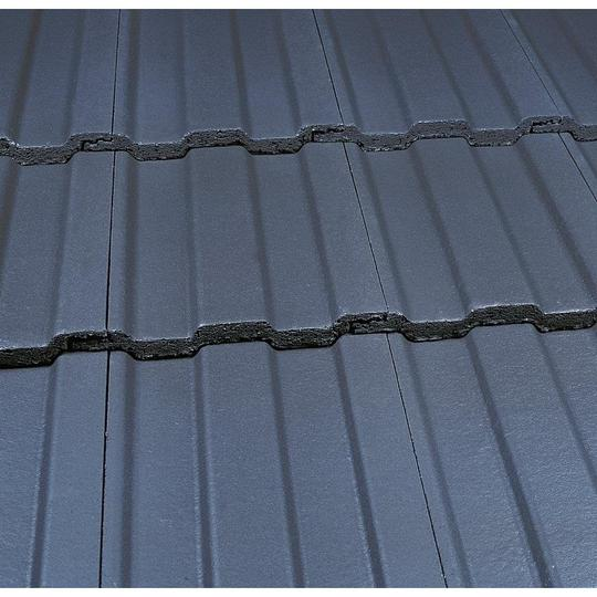 Marley Ludlow Major Roof Tile - Smooth Grey