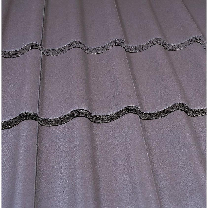 Marley Mendip Roof Tile - Smooth Grey