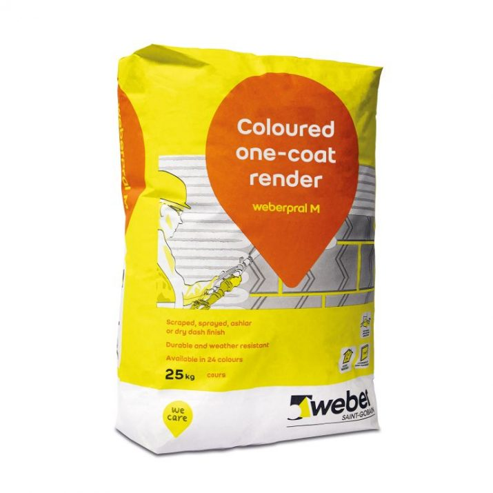 Weber Pral M Chalk Render 25KG Bag